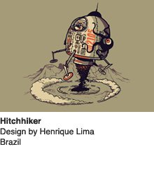 Hitchhiker - Design by Henrique Lima / Brazil