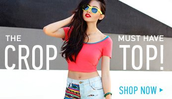 The Must-Have Crop Tops! - Shop Now