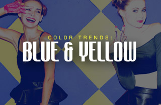 Color Trends: Blue & Yellow