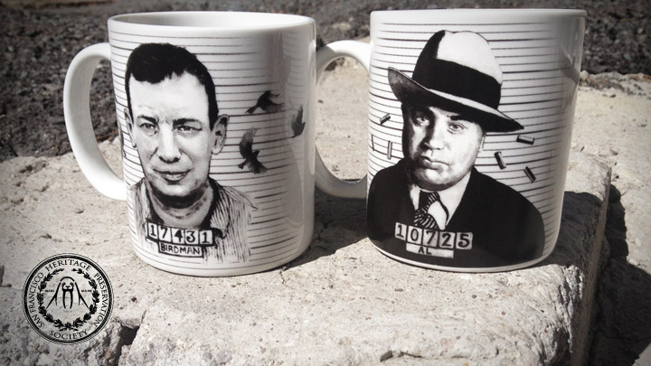 Alcatraz Mug Set