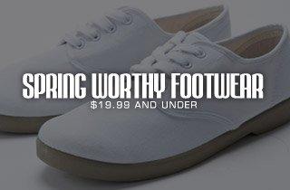 Spring Worthy Footwear