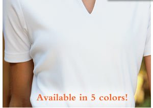 Available in 5 colors!