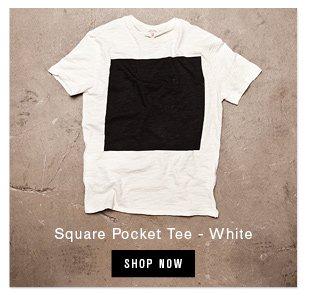 square pocket tee