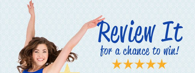 Write a review and win.