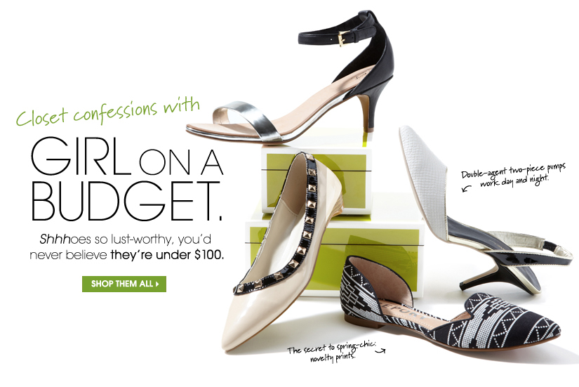 Closet confessions with GIRL ON A BUDGET. SHOP THEM ALL.