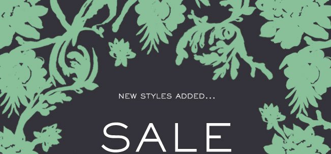 NEW STYLES ADDED... SALE UP TO 50% OFF