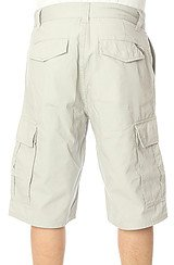 The Core Collection Classic Cargo Shorts in Light Grey