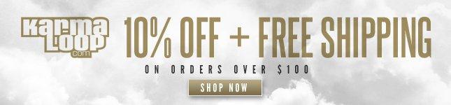 10% Off + Free Ship on KL