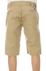 The Slim Fit Cut Off Shorts in Khaki