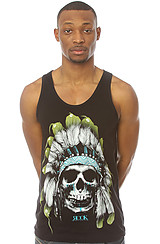 The Chief Skull V2 Tank in Black