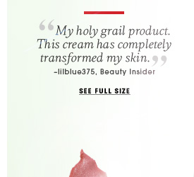 Shiseido. Rich Antiaging Cream. My holy grail product. This cream has completely transformed my skin. -lilblue375, Beauty Insider. See full size