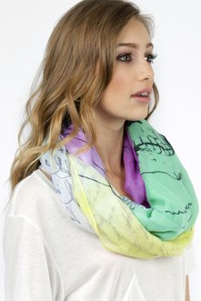 Colorful Rebel Scarf $11