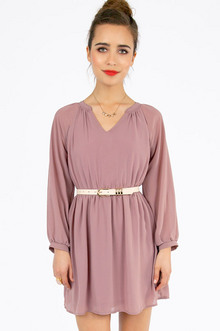 Tara Chiffon Dress $33
