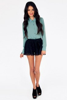 True Harmony Lace Shorts $22