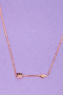 Straight Arrow Necklace $8