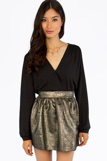 Dapper Wrapper Top $29