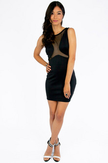 Everybody Do The Mesh Around Dress $32