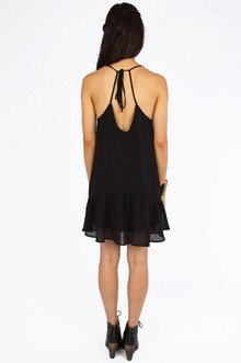 Mellow Monday Ruffle Dress $33