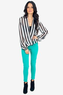Twist Front Blouse $29