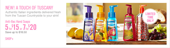 Anti-Bac Hand Soap - 5 for $15