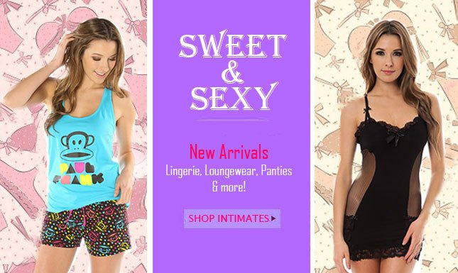 New Intimates just in on Miss KL!