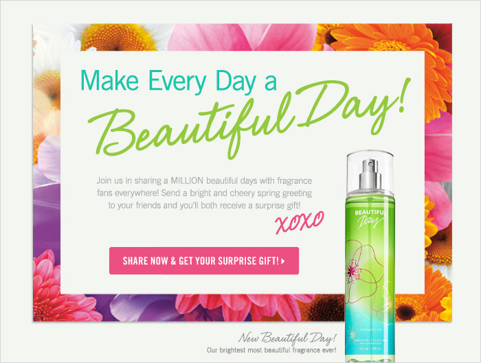 Join in sharing a million beautiful days!
