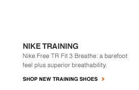 NIKE TRAINING | Nike Free TR Fit 3 Breathe: a barefoot feel plus superior breathability. | SHOP NEW TRAINING SHOES