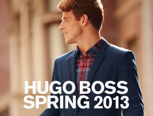 HUGO BOSS SPRING 2013