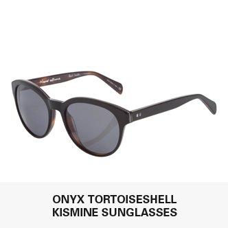 Onyx Tortoiseshell Kismine Sunglasses