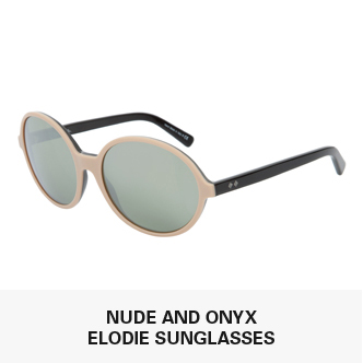 Nude And Onyx Elodie Sunglasses