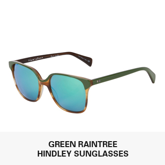 Green Raintree Hindley Sunglasses