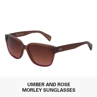 Umber And Rose Gradient Morley Sunglasses