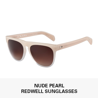 Nude Pearl Redwell Sunglasses