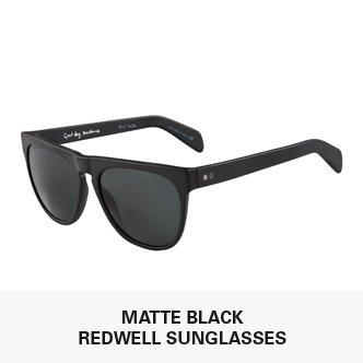 Matte Black Redwell Sunglasses