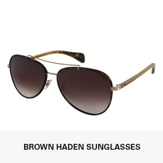 Brown Haden Sunglasses