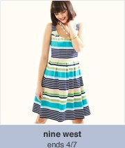 nine west -- ends 4/7