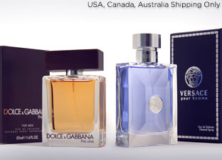 Men's Fragrances: Burberry, Versace, YSL