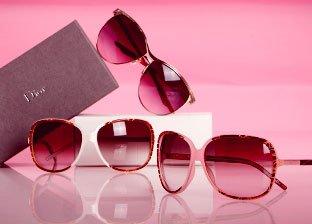 Christian Dior, Balenciaga, Giorgio Armani & More Designer Sunglasses