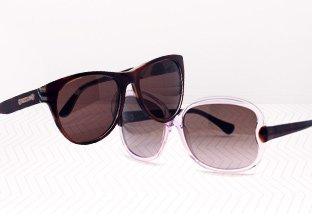 Sunglasses: Jimmy Choo, Ferragamo, Tod's