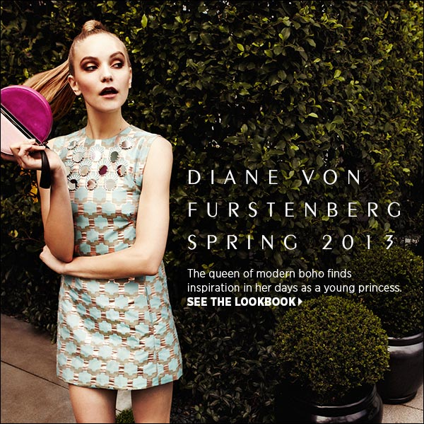 Be first to shop fresh styles from iconic American designer, Diane von Furstenberg. Shop Diane von Furstenberg >>