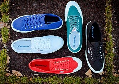 Shop Superga Classic Canvas Sneakers