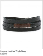 Legend Leather Triple Wrap