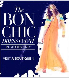 THE BON CHIC DRESS EVENT