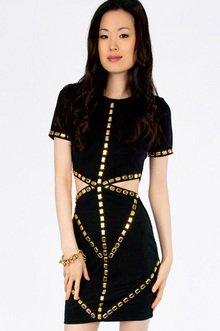 Cut to the Waist Dress $36