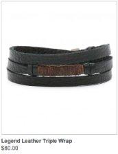 Legend Leather Triple Wrap