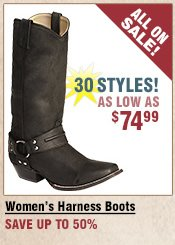 Shop All Women's Harness Boots on Sale