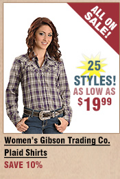 Shop All Women's Gibson Trading Company Plaid Shirts on Sale