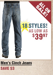 Shop All Men's Cinch Jeans on Sale