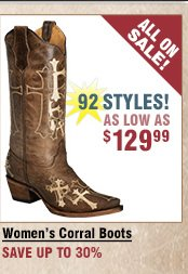 Shop All Women's Corral Boots on Sale
