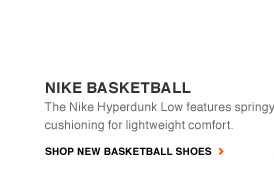NIKE BASKETBALL | The Nike Hyperdunk Low features springy cushioning for lightweight comfort. | SHOP NEW BASKETBALL SHOES